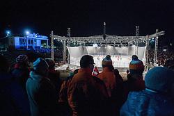 08.01.2012, Stadium Bezigrad, Ljubljana, SLO, EBEL, HDD Telemach Olimpija Ljubljana vs KAC Klagenfurt 40. Runde, in picture stadium Bezigrad during the Erste Bank Ice Hockey League in 40th Round match between HDD Telemach Olimpija Ljubljana and KAC Klagenfurt at the open ice winter classic Stadium Bezigrad, Ljubljana, Slovenia on 2013/01/08. (Photo By Vid Ponikvar / Sportida.com)
