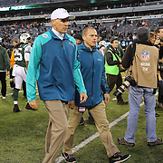 Miami Dolphins coach Joe Philbin at the end of the game after the New York Jets Vs Miami Dolphins  NFL American Football game at MetLife Stadium, East Rutherford, NJ, USA. 1st December 2013. Photo Tim Clayton