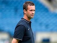 05/08/14  <br /> CELTIC TRAINING <br /> BT MURRAYFIELD STADIUM - EDINBURGH<br /> Celtic manager Ronny Deila casts an eye over training