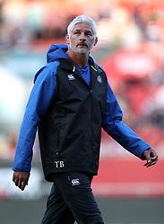 Bath's Tod Blackadder during the Gallagher Premiership match at Ashton Gate Stadium, Bristol