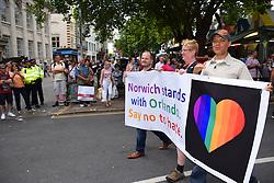 Clive Lewis MP, Norwich Pride 30 July 2016 UK