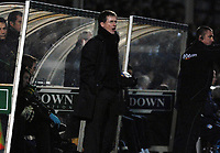 Photo: Ashley Pickering/Sportsbeat Images.<br /> Colchester United v Norwich City. Coca Cola Championship. 15/12/2007.<br /> Norwich manager Glenn Roeder shouts his orders from the sidelines