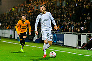 Lewis Wing (26) of Middlesbrough during the The FA Cup match between Newport County and Middlesbrough at Rodney Parade, Newport, Wales on 5 February 2019.