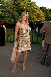 PENNY LANCASTER at the annual Serpentine Gallery Summer Party in association with Swarovski held at the gallery, Kensington Gardens, London on 11th July 2007.<br /><br />NON EXCLUSIVE - WORLD RIGHTS