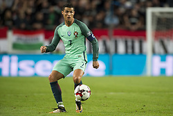 September 3, 2017 - Budapest, Hungary - Cristiano Ronaldo of Portugal in action during the FIFA World Cup 2018 Qualifying Round match between Hungary and Portugal at Groupama Arena in Budapest, Hungary on September 3, 2017  (Credit Image: © Andrew Surma/NurPhoto via ZUMA Press)