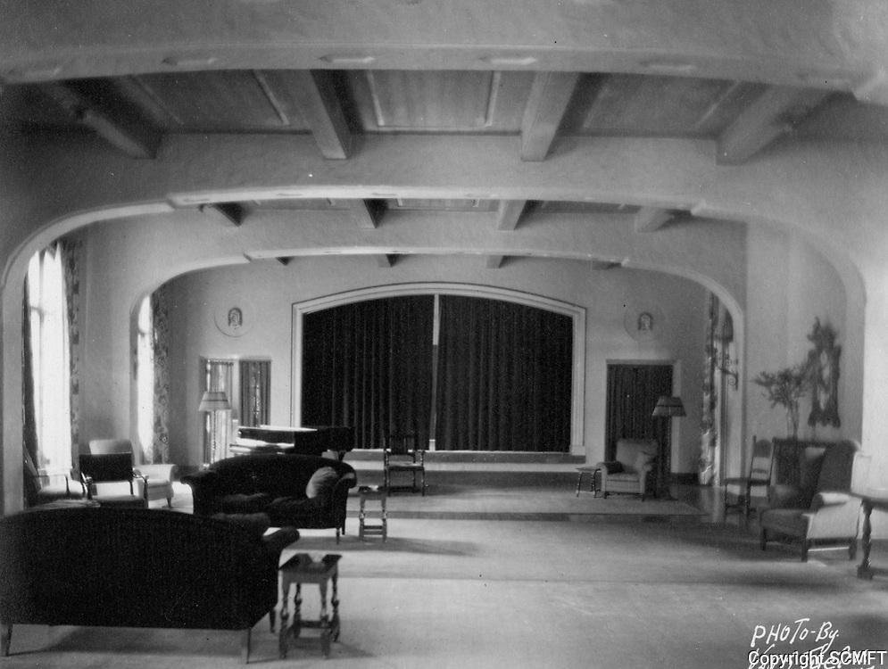 1930 Studio room at the Hollywood Studio Club at 1215 Lodi Pl.