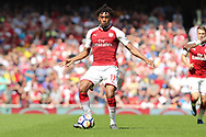 Arsenal forward Alex Iwobi (17) during the Premier League match between Arsenal and West Ham United at the Emirates Stadium, London, England on 22 April 2018. Picture by Bennett Dean.