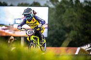 #136 (KITWANITSATHIAN Chutikan) THA GT at Round 7 of the 2019 UCI BMX Supercross World Cup in Rock Hill, USA