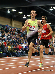 2020 USATF Indoor Championship<br /> Albuquerque, NM 2020-02-15<br /> photo credit: © 2020 Kevin Morris<br /> mens 800m, Brooks
