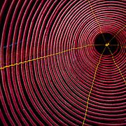 Circular rings of spiral incense coil (Hoi An, Vietnam - Nov. 2008) (Image ID: 081107-1346301a)