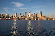 Ferry ride from Bainbridge Island to Seattle