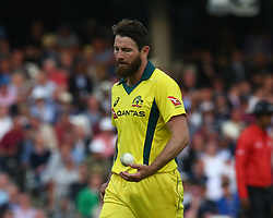 June 13, 2018 - London, England, United Kingdom - Michael Neser of Australia.during One Day International Series match between England and Australia at Kia Oval Ground, London, England on 13 June 2018. (Credit Image: © Kieran Galvin/NurPhoto via ZUMA Press)