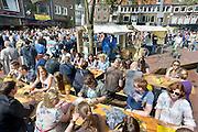 Nederland, Nijmegen, 19-5-2013Nijmeegse bierfeesten in de binnenstad.Foto: Flip Franssen/Hollandse Hoogte