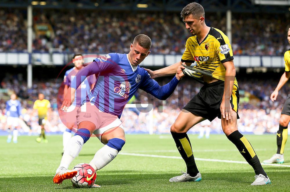 Everton's Ross Barkley in action - Mandatory byline: Matt McNulty/JMP - 07966386802 - 08/08/2015 - FOOTBALL - Goodison Park -Liverpool,England - Everton v Watford - Barclays Premier League