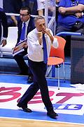 DESCRIZIONE : Brindisi  Lega A 2015-16<br /> Enel Brindisi Obiettivo Lavoro Virtus Bologna<br /> GIOCATORE : Piero Bucchi<br /> CATEGORIA : Allenatore Coach<br /> SQUADRA : Enel Brindisi<br /> EVENTO : Campionato Lega A 2015-2016<br /> GARA :Enel Brindisi Obiettivo Lavoro Virtus Bologna<br /> DATA : 11/10/2015<br /> SPORT : Pallacanestro<br /> AUTORE : Agenzia Ciamillo-Castoria/D.Matera<br /> Galleria : Lega Basket A 2014-2015<br /> Fotonotizia : Brindisi  Lega A 2015-16 Enel Brindisi Obiettivo Lavoro Virtus Bologna<br /> Predefinita :