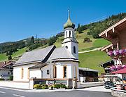 Austria, Zillertal, Tyrol The village of Gerlos