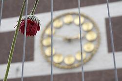 April 14, 2017 - Stockholm, Sweden - Exactly one week after the attack, Ã…hlens..Aftermath of truck terror attack, Stockholm, Sweden, 2017-04-14..(c) Johan Jeppsson / IBL....Klockan 14.53 förra fredagen  kom larmet om att en lastbil kört in i människor pÃ¥ Drottninggatan i Stockholm. SÃ¥ här ser det ut nu, precis en vecka senare pÃ¥ platsen för dÃ¥det pÃ¥ Drottninggatan, Stockholm, 2017-04-14 ....Unfixed image (Credit Image: © Johan Jeppsson/IBL via ZUMA Press)