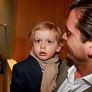 NLD/Amsterdam/20110323 - Presentatie Styleguide Danie Bles 2011, Danie Bles, partner en zoon