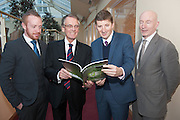 20/11/2014  repro free  Michael Smith  Ballybane Enterprise Centre , Frank Scott Lennon and Dr. Mark Rowe and Liam Bluett, SCCUL Enterprises at the Galway Bay Hotel for the two day conference Meet West attracting over 400 business people from around Ireland for the largest networking event in the Country . Photo:Andrew Downes