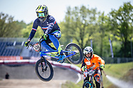 #130 (PILARD Arthur) FRA during practice of Round 3 at the 2018 UCI BMX Superscross World Cup in Papendal, The Netherlands