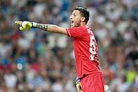 ACF Fiorentina's Marco Sportiello during Santiago Bernabeu Trophy. August 23,2017. (ALTERPHOTOS/Acero)