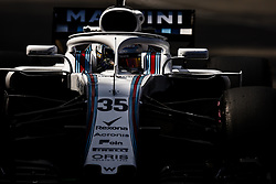 May 24, 2018 - Montecarlo, Monaco - 35 Sergey Sirotkin from Russia Williams F1 Mercedes FW41 during the Monaco Formula One Grand Prix  at Monaco on 24th of May, 2018 in Montecarlo, Monaco. (Credit Image: © Xavier Bonilla/NurPhoto via ZUMA Press)