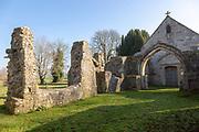 Church of Saint Leonard, Sutton Veny, Wiltshire, England, UK