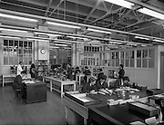 15/03/1961<br /> 03/15/1961<br /> 15 March 1961<br /> Interiors of W.D. & H. O Wills tobacco Factory at South Circular Road, Dublin.