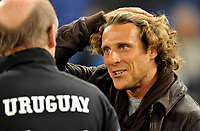 "Diego FORLAN (Uruguay)<br /> Roma 15/11/2011 Stadio ""Olimpico""<br /> Gara amichevole 2011/2012<br /> Football Calcio Italia Vs Uruguay<br /> Foto Insidefoto Alessandro Sabattini"
