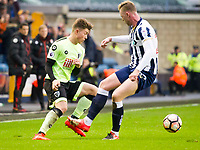 Football - 2016 / 2017 FA Cup - Third Round: Millwall vs. AFC Bournemouth<br /> <br /> Jordan Lee of Bournemouth attacks, at The Den.<br /> <br /> COLORSPORT/WINSTON BYNORTH