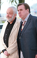 Director Mike Leigh and actor Timothy Spall at the photocall for the film Mr. Turner at the 67th Cannes Film Festival, Thursday 15th May 2014, Cannes, France.