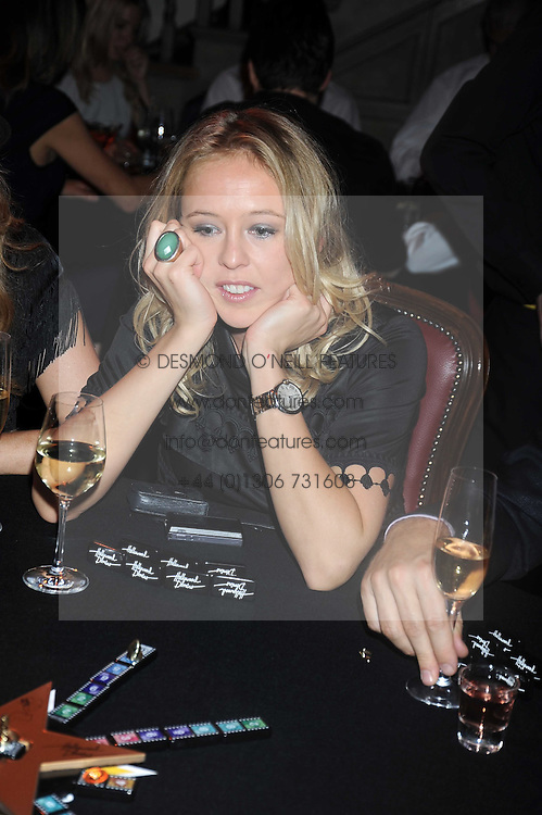 LADY ALEXANDRA SPENCER-CHURCHILL at a party to celebrate the launch of Hollywood Domino - a brand new board game, held at Mosimann's 11b West Halkin Street, London on 7th November 2008.  The evening was in aid of Charlize Theron's Africa Outreach Project.
