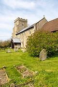 Village parish church of Saint George, Wyverstone, Suffolk, England, UK