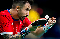 20160908 Copyright onEdition 2016©<br /> Free for editorial use image, please credit: onEdition<br /> <br /> Table Tennis Athlete Will Bayley, (Singles Class 7 - Men), from Tunbridge Wells, Kent, competing for ParalympicsGB at the Rio Paralympic Games 2016.<br />  <br /> ParalympicsGB is the name for the Great Britain and Northern Ireland Paralympic Team that competes at the summer and winter Paralympic Games. The Team is selected and managed by the British Paralympic Association, in conjunction with the national governing bodies, and is made up of the best sportsmen and women who compete in the 22 summer and 4 winter sports on the Paralympic Programme.<br /> <br /> For additional Images please visit: http://www.w-w-i.com/paralympicsgb_2016/<br /> <br /> For more information please contact the press office via press@paralympics.org.uk or on +44 (0) 7717 587 055<br /> <br /> If you require a higher resolution image or you have any other onEdition photographic enquiries, please contact onEdition on 0845 900 2 900 or email info@onEdition.com<br /> This image is copyright onEdition 2016©.<br /> <br /> This image has been supplied by onEdition and must be credited onEdition. The author is asserting his full Moral rights in relation to the publication of this image. Rights for onward transmission of any image or file is not granted or implied. Changing or deleting Copyright information is illegal as specified in the Copyright, Design and Patents Act 1988. If you are in any way unsure of your right to publish this image please contact onEdition on 0845 900 2 900 or email info@onEdition.com