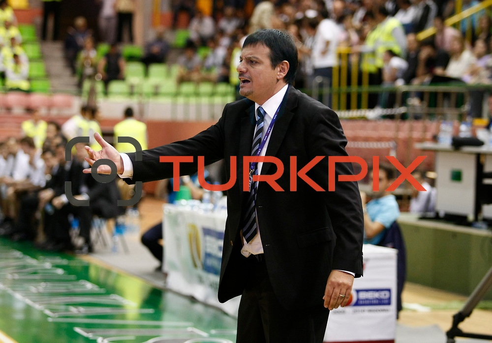 Efes Pilsen's coach Ergin ATAMAN during their Turkish Basketball league Play Off semi final first match Efes Pilsen between Besiktas at the Ayhan Sahenk Arena in Istanbul Turkey on Sunday 09 May 2010. Photo by Aykut AKICI/TURKPIX