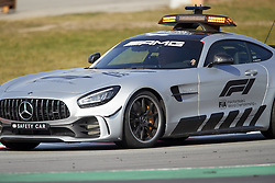 February 28, 2019 - Spain - Safety car seen during the winter testing days at the Circuit de Catalunya in Montmelo  (Credit Image: © Fernando Pidal/SOPA Images via ZUMA Wire)