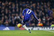 Pedro of Chelsea scores his sides 4th goal of the match to make it 4-0. Barclays Premier league match, Chelsea v Newcastle Utd at Stamford Bridge in London on Saturday 13th February 2016.<br /> pic by John Patrick Fletcher, Andrew Orchard sports photography.