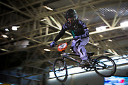 #116 (HANSEN Tahlia) NZL at the 2014 UCI BMX Supercross World Cup in Manchester.