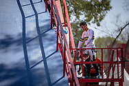 #77 (SAKAKIBARA Kai) AUS at round 8 of the 2018 UCI BMX Supercross World Cup in Santiago del Estero, Argentina.
