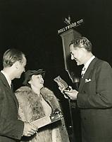 1938 CBS radio broadcast from Hollywood Blvd. & Vine St.