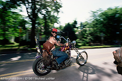 Riding Alongside Mr. Tramp, Sturgis, South Dakota, 1981<br /> <br /> Limited Edition Print from an edition of 15. Photo ©1981 Michael Lichter.