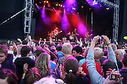 Postgirobygget. Sommerfestivalen i Selbu er en av Norges største musikkfestivaler. Sommerfestivalen is one of the biggest music festivals in Norway.