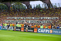 Supporters Nantes - 16.05.2015 - Nantes / Lorient - 37eme journee de Ligue 1<br />