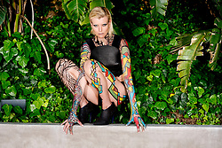 Vixen Swag Editorial Fashion <br /> An Erotica Fashion story shot in Hollywood California.<br /> Model Actor Eugenia Kuzmina<br /> Hair and Makeup Veronica Lane<br /> Assistant Hair and Makeup Melissa Ginzel<br /> Body Painter Johny Dar<br /> Stylist Melissa Laskin<br /> Production Neptune<br /> Prestige International PIM25<br /> All Rights Reserved. Copyright Amyn Nasser. <br /> No Creative Commons or Derivative Use Permitted.