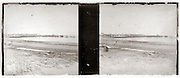 stereo image of beach