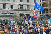 Queues outside Green Park station which was closed due to overcrowding - It is estimated that over a million people joined the Put it to the People March from Park Lane to Parliament. Organised by the Peoples-Vote.UK to demand that, whatever deal is finally agreed, that it is put to the people to finally decide upon.