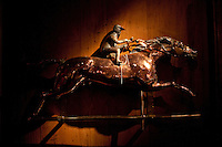 Copper Weather Vane at Tavern on the Green. .(Photo by Robert Caplin)...