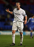"Photo: Paul Thomas.<br /> Bolton Wanderers v Chelsea. The Barclays Premiership. 29/11/2006.<br /> <br /> A ""not so happy"" captain Kevin Nolan of Bolton."