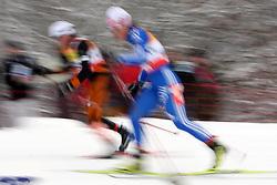 Cross-country skier at FIS Nordic World Ski Championships Liberec 2008, on February 21, 2009, in Vestec, Liberec, Czech Republic. (Photo by Vid Ponikvar / Sportida)