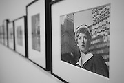 A side room displays Cindy Sherman's film stills during a press preview of Sherman's new exhibit at the Dallas Museum of Art on Thursday, March 14, 2013. (Cooper Neill/The Dallas Morning News)